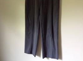 Briggs New York Gray Dress Pants Size 8 Elastic Waistband image 3