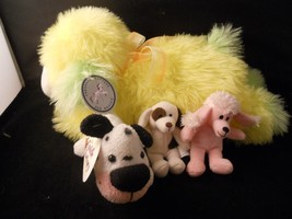 Collection of Dog Plush toys
