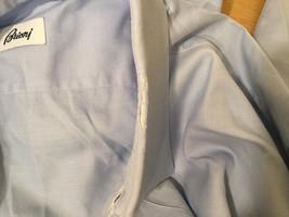 Brioni Light Blue Classic 100% Cotton Dress Shirt, NO Size tag image 5
