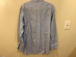 Brioni Light Blue Classic 100% Cotton Dress Shirt, NO Size tag image 2