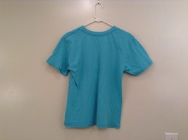 Brook Davis Mustardstache Size Large Short Sleeve Graphic T Shirt Light Blue image 2