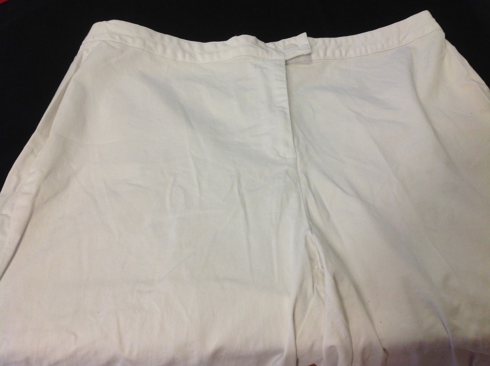 Cold water creek white pants for woman size 14