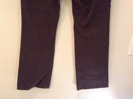 Brown Boot Cut Fit Size 8 Liz Claiborne Casual Pants Button and Zipper Closure image 8