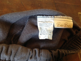Brown Bobbie Brooks Elastic Waisted Casual Pants Fake Button and Fly Size 12P image 5