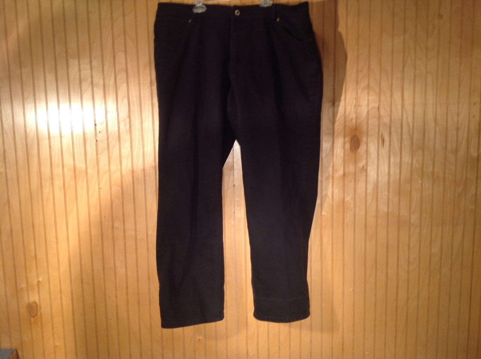 Coldwater Creek Black Jeans Front Back Pockets No Size Tag Measurements Below