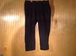 Coldwater Creek Black Jeans Front Back Pockets No Size Tag Measurements Below