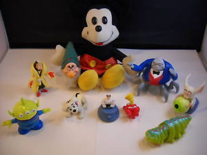 Primary image for Collection of 12 Disney Pixar Toys toy story mickey