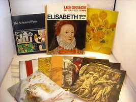 Collection of Art books and bulletins