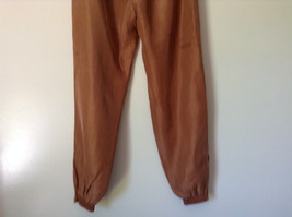 Brown Lined Pants Shell and Lining is 100 Percent Silk Size Small image 6