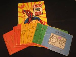 Collection of Children's Books Marvel Comic and Bobs