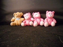 Collection of Bear Plush toys