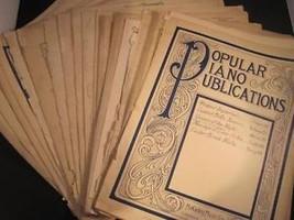 Collection of Sheet Music Travatore Pizzicati