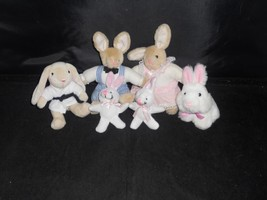 Collection of Rabbit Plush toys