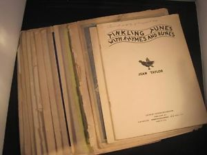 Collection of Sheet Music Classical Jean Taylor