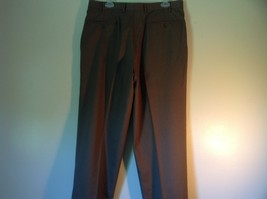 Brown Pleated Dress  Pants by Chaps No Size Tag Measurements Below image 4
