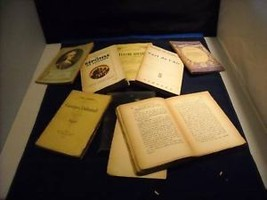 Collection of Vintage French Books Rousseau Voltaire