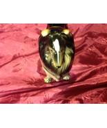 "Collie Dog 8"" figurine vintage ceramic figure tri color from estate - $34.64"