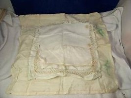 Collection of Vintage Handkerchiefs off white
