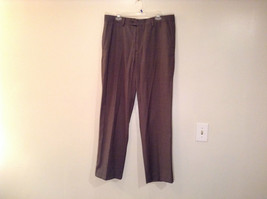 Colours by Alexander Julian Nice Pleated Front Gray Dress Pants Size 36 by 32