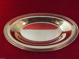 Concord International Silver Company Oval Serving Tray/Dish