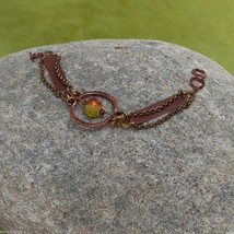 Copper Leather Soulful Bracelet  NEW