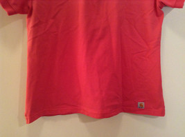Carhartt Size Large Red Short Sleeve Cotton Blend Polo Shirt image 4