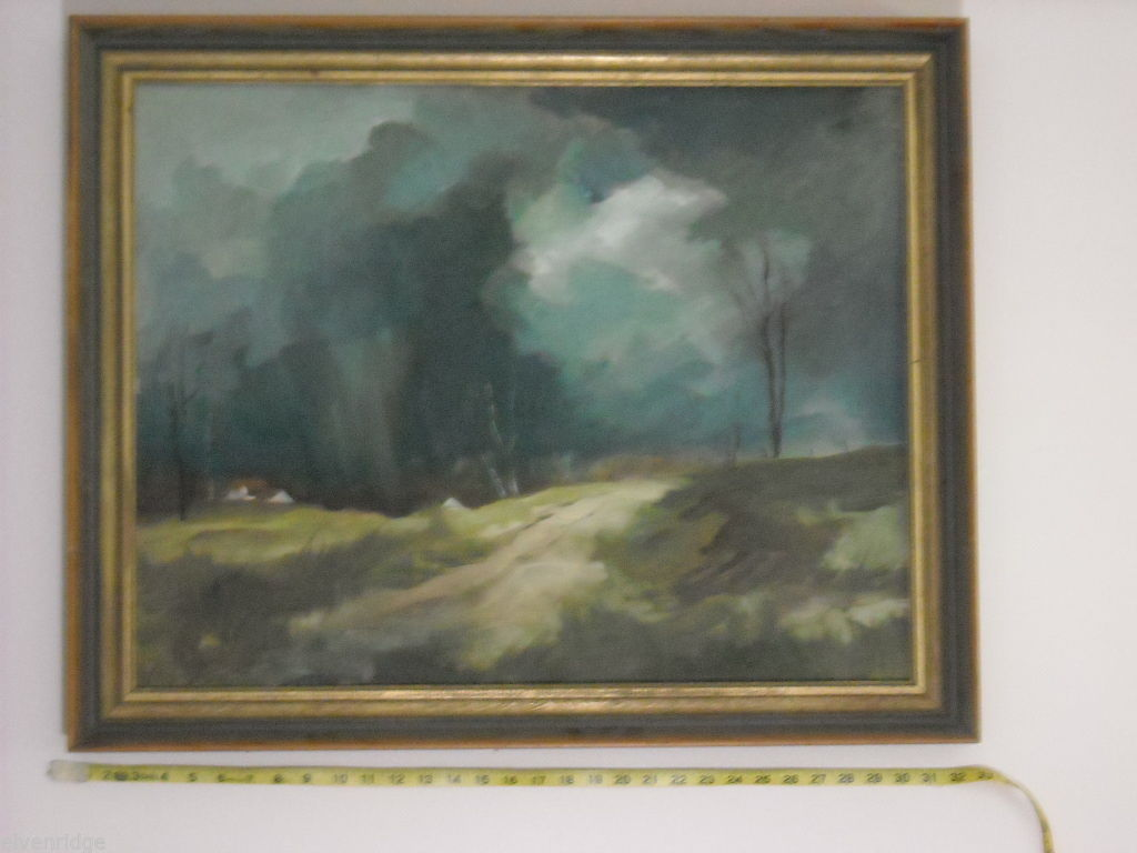 Country Landscape Oil Painting by Waltch