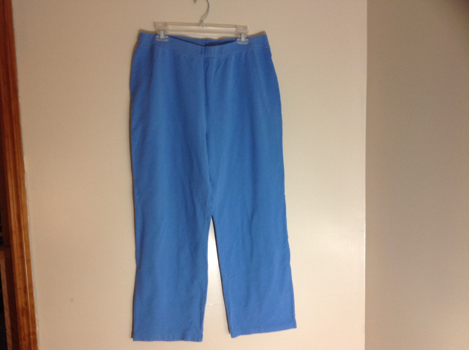 Crazy Horse Blue Straight Leg Yoga Pants Size XL