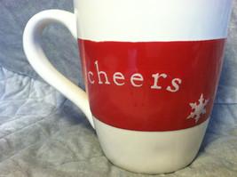 "Ceramic Christmas ""Cheers"" Mug - dishwasher and microwave safe image 2"