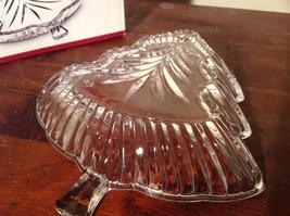 Celebration by Mikasa Clear Glass Christmas Tree Dish Original Box image 3