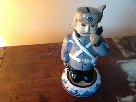 Cute Ceramic  Policeman Piggy Bank Made in Russia image 1