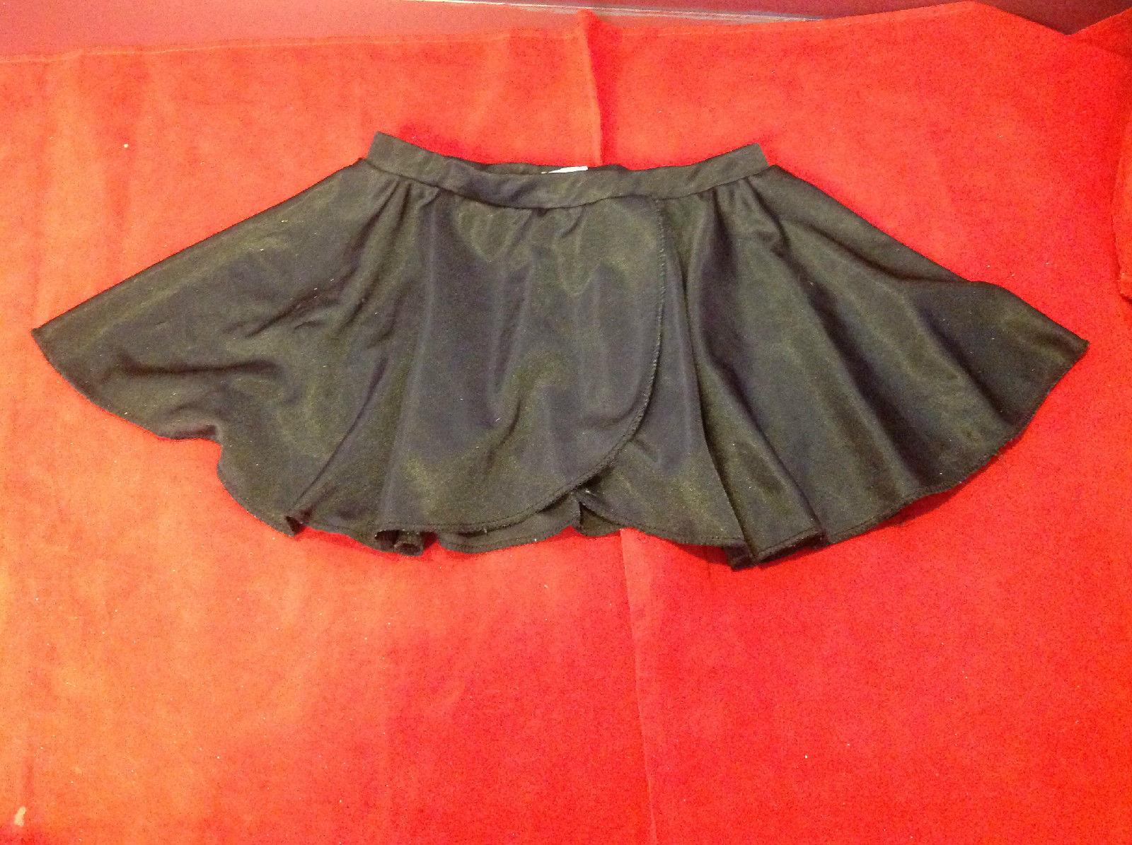 Cute Black Danskin Now Girls Short Skirt Size Large