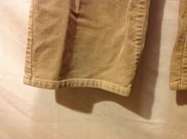 Chaps Womans Tan Corduroy Pants image 5