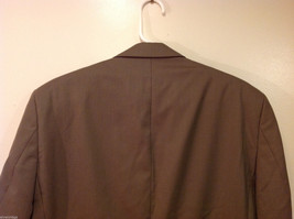 Chaps Two Buttons Brown wit Gray Hue 100% Wool Suit Jacket, Size 40R image 5