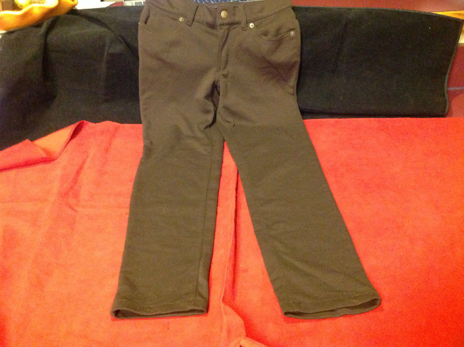Cute Lands' End Kids Brown Colored Pants Size 8