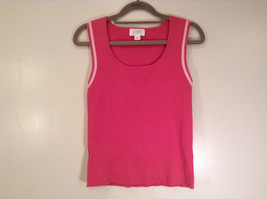 Cute Pink  Sleeveless Tank Top Ann Taylor Loft Size Medium