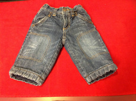Cute Old Navy Baby Blue Jeans Size 6 to 12 Months