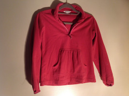 Cute Pink Long Sleeve Sweatshirt by Lands End Size Small image 1