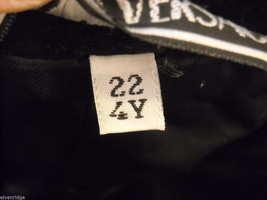 Child's jacket by G.Versace Black Velvet Made in Italy image 6