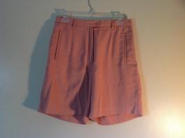 Cutter Buck Light Pink Size 6 Dress Shorts Button Zipper Closure 2 Front Pockets