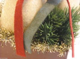 "Christmas Decorative ""Believe"" Snowman Box image 5"