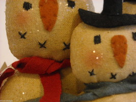 "Christmas Decorative ""Believe"" Snowman Box image 4"