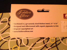 Christmas Kitchen Towel Card Towel by Fiddlers Elbow Christmas is More Than image 5