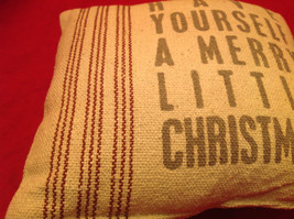 Christmas Pillow Have Yourself a Merry Little Christmas Polyester Fiber image 2