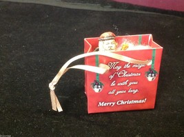 Christmas bag Santa w tree perfect gift 4 shut ins elderly person w everything image 2