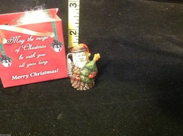 Christmas bag Santa w tree perfect gift 4 shut ins elderly person w everything image 3