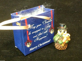 Christmas Snowman w gingerbread cookie perfect gift 4 shut ins elderly person image 2