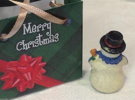 Christmas bag Snowman w pine tree #2 perfect gift 4 shut ins elderly person image 5