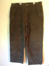 Dark Green Eddie Bauer Corduroy Size 40 Pants - $39.99