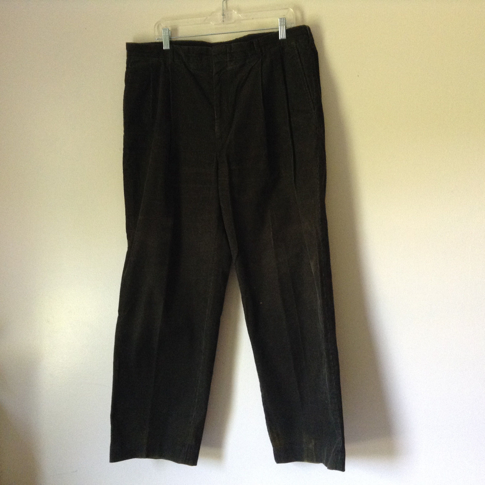 Dark Green Pants by Lands End 100 Percent Baumwolle Size 38